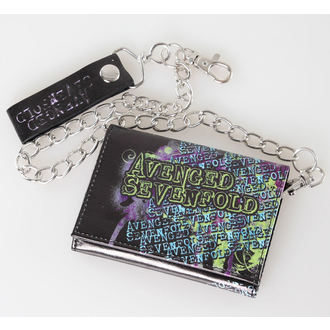 wallet Avenged Sevenfold - Splatter Skull - Black - Bravado - 25WL