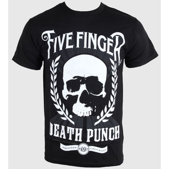 t-shirt metal men's Five Finger Death Punch - Skull Zoom - BRAVADO - FDP1047