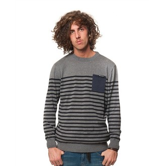 sweater men's Horsefeathers - SPIN - Gray Melange