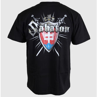 t-shirt metal men's Sabaton - Swedisch - CARTON - 485