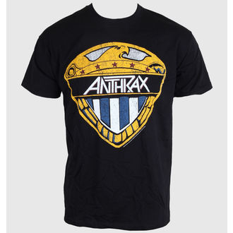 t-shirt metal men's women's unisex Anthrax - Eagle Shield - ROCK OFF, ROCK OFF, Anthrax
