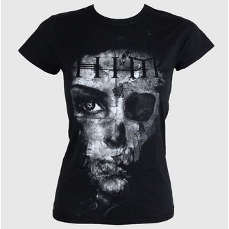 Women's t-shirt - HIM Woman B & W - Black - ROCK OFF - HIMTEE09LB