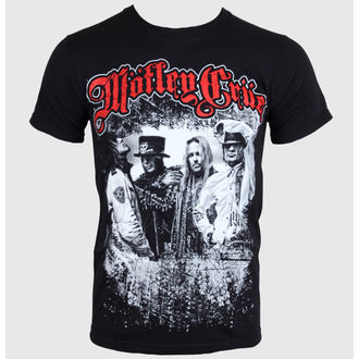 t-shirt metal men's women's unisex Mötley Crüe - Greatest Hits Bandshot - ROCK OFF - MOTTEE06MB