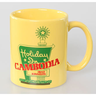 cup Dead Kennedys - Holiday in Cambodia - ROCK OFF - DKMUG02