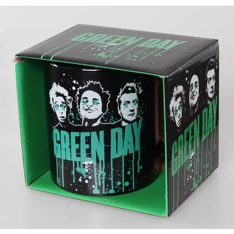 cup Green Day - Drips - ROCK OFF - GDMUG02