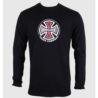 t-shirt men with long sleeve INDEPENDENT - Truck Co Ls - Black