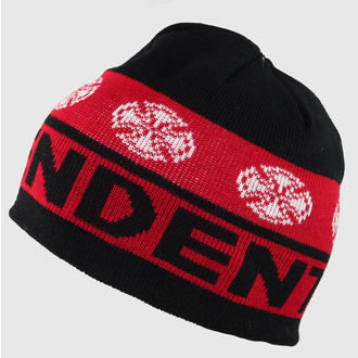 beanie INDEPENDENT - Woven Crosses - Black