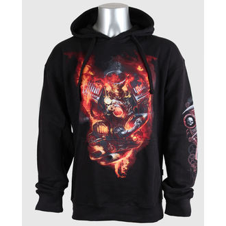hoodie men's - STEAM PUNK RIDER - SPIRAL - T095M451