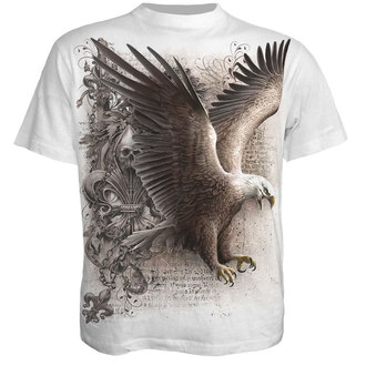 t-shirt men SPIRAL - WINGS OF FREEDOM - WHITE - WM123619