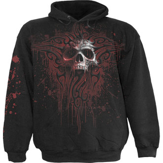 hoodie men SPIRAL - DEATH BLOOD - Black - WM124800
