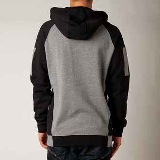 hoodie men FOX - HEIGHTEN - Black - 10516-001