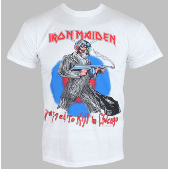 t-shirt metal men's Iron Maiden - Chicago Mutants - ROCK OFF - IMTEE38