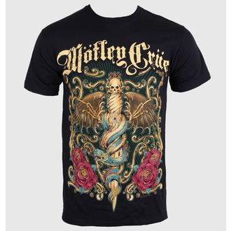 t-shirt metal men's women's unisex Mötley Crüe - Exquisite Dagger - ROCK OFF - MOTTEE09MB