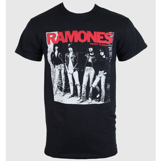 t-shirt metal men's Ramones - Rocket To Russia - ROCK OFF - RATS02MB
