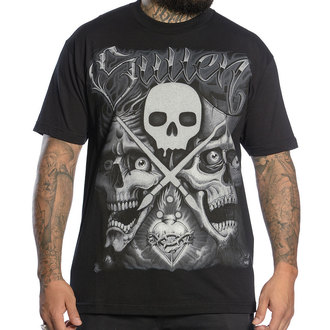 t-shirt men SULLEN - Players Club - BLK