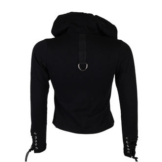 hoodie women's - Zip Hood Sweat - BLACK PISTOL - B-4-31-256-00