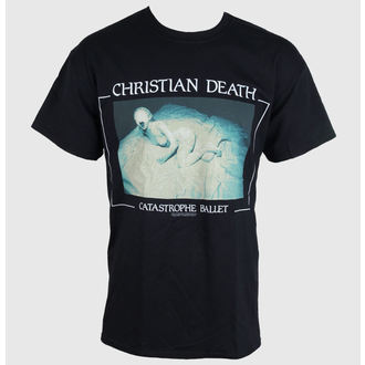t-shirt metal men's Christian Death - Catastrophe Ballet - RAZAMATAZ - ST1830