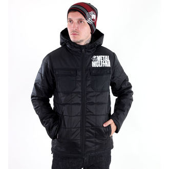 winter jacket men's - PSYCLONE - METAL MULISHA - M34502301.01_BLK