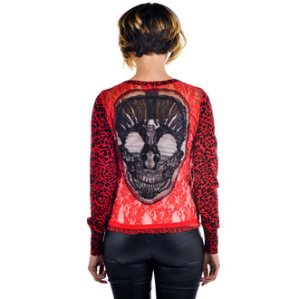 sweater women's TOO FAST - SKULL