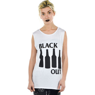 top womens TOO FAST - BLACK OUT