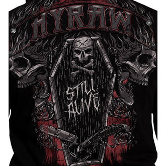 hoodie men's - Dark coffin - HYRAW - HY030