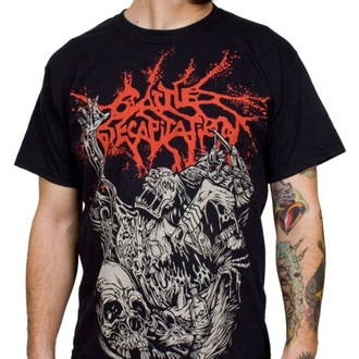 t-shirt metal men's Cattle Decapitation - Alone At The Landfill - INDIEMERCH - 6448