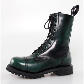 leather boots women's - Green Rub-Off - ALTERCORE - 551