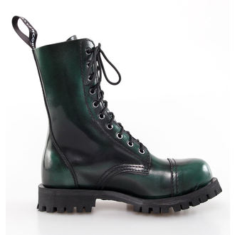 boots leather - Green Rub-Off - ALTERCORE - 551