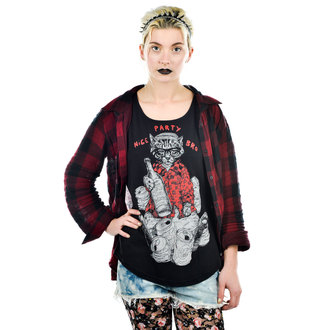 t-shirt gothic and punk women's - NICE PARTY BRO - TOO FAST - WTSC-PARTY
