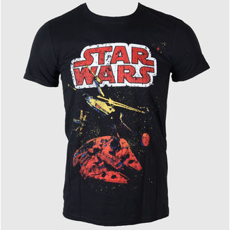film t-shirt men's Star Wars - Xwing Gradient - LIVE NATION - PE11685TSBP