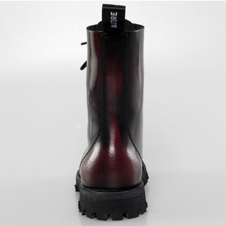 boots ALTER CORE - 10 eyelets - Burgundy Rub-Off - 551