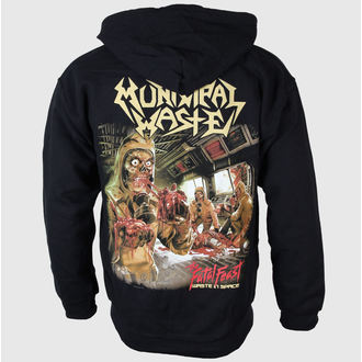 hoodie men's Municipal Waste - Fatal Feast - Just Say Rock, Just Say Rock, Municipal Waste