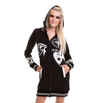 hoodie women's - Dark Occult - POIZEN INDUSTRIES - Black