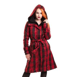 coat women's spring/fall POIZEN INDUSTRIES - Mystique - Red