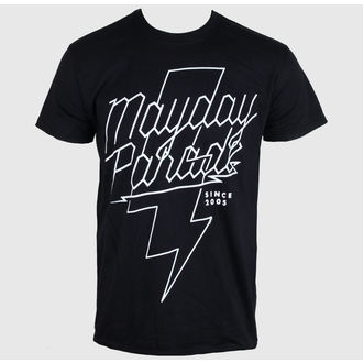 t-shirt metal men's Mayday Parade - Lightning Bolt - PLASTIC HEAD - PH8472