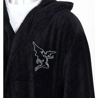 bathrobe Black Sabbath - Cross Oversized - BLACK