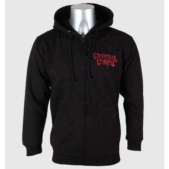 hoodie men's Cannibal Corpse - A Skeletal Domain - PLASTIC HEAD - PH8783HSWZ