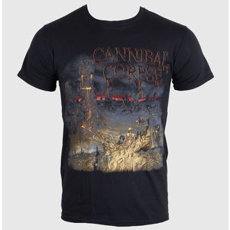 t-shirt metal men's Cannibal Corpse - A Skeletal Domain 1 - PLASTIC HEAD, PLASTIC HEAD, Cannibal Corpse