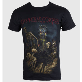 t-shirt metal men's Cannibal Corpse - A Skeletal Domain 4 - PLASTIC HEAD - PH8782
