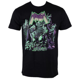 t-shirt metal men's Havok - Burn - PLASTIC HEAD - PH8402