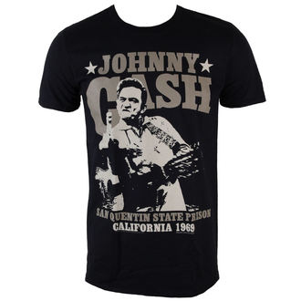 t-shirt metal men's Johnny Cash - Outlaw - PLASTIC HEAD - PH8653