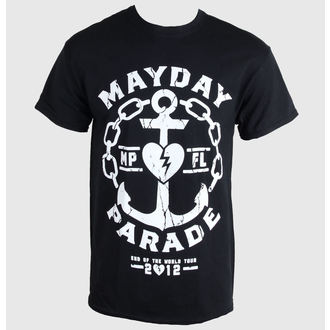 t-shirt metal men's Mayday Parade - Anchor - PLASTIC HEAD - PH7702