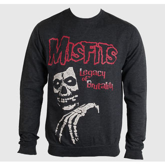 sweatshirt (no hood) men's Misfits - Legacy Of Brutality - PLASTIC HEAD - PH8262