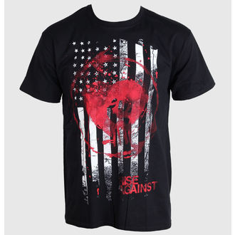 t-shirt metal men's Rise Against - Stained Flag - PLASTIC HEAD - PH8323