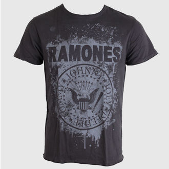 t-shirt metal men's Ramones - Grafitti - AMPLIFIED - AV210RAG