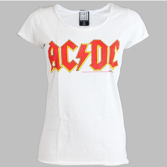 t-shirt metal women's AC-DC - Logo - AMPLIFIED - AV601ACL