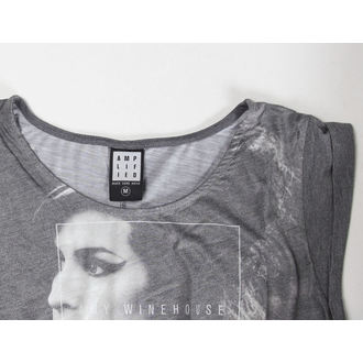 t-shirt metal women's Amy Winehouse - Club 27 Fishtail - AMPLIFIED - AV684A27