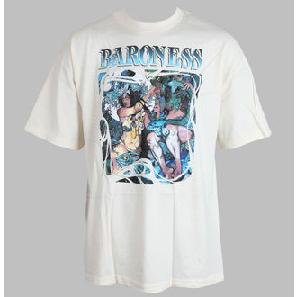 t-shirt metal men's Baroness - Blue record - RELAPSE, RELAPSE, Baroness