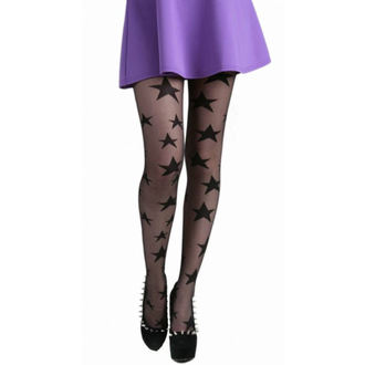 tights PAMELA MANN - All Over Stars Sheer Tights - Black - 086