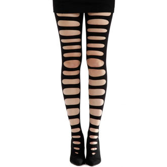 tights PAMELA MANN - Front Slash Tights - Black, PAMELA MANN